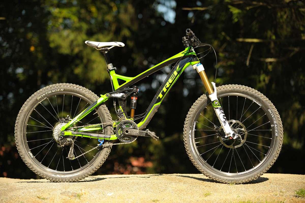 das Trek Slash 9 aus 2012 - ein absolutes Spitzenbike für jede Lebenslage. Ob Uphill, Downhill oder Bikepark