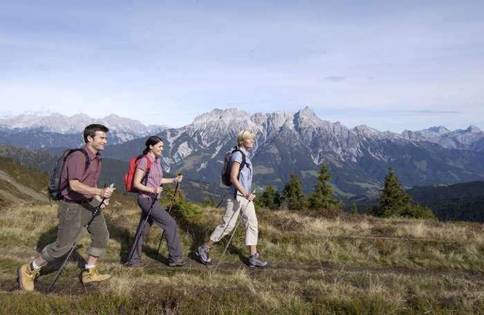 Wanderung in Saalbach Hinterglemm