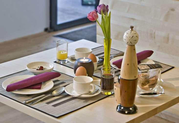 Frühstück im Hotel Talblick