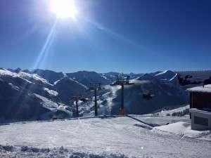 Schnee, Sonne, Winter in Saalbach Hinterglemm