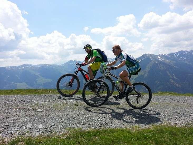 Auf Mountainbiketour mit der Bikeschule Penhab