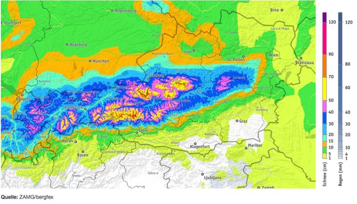 Powderalarm für das Salzburger Land und das Hotel Talblick