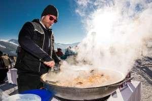 Kulinarik bei den White Pearls Mountain Days