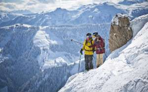 Backcountry Check im Freeridepark Saalbach Hinterglemm © saalbach.com